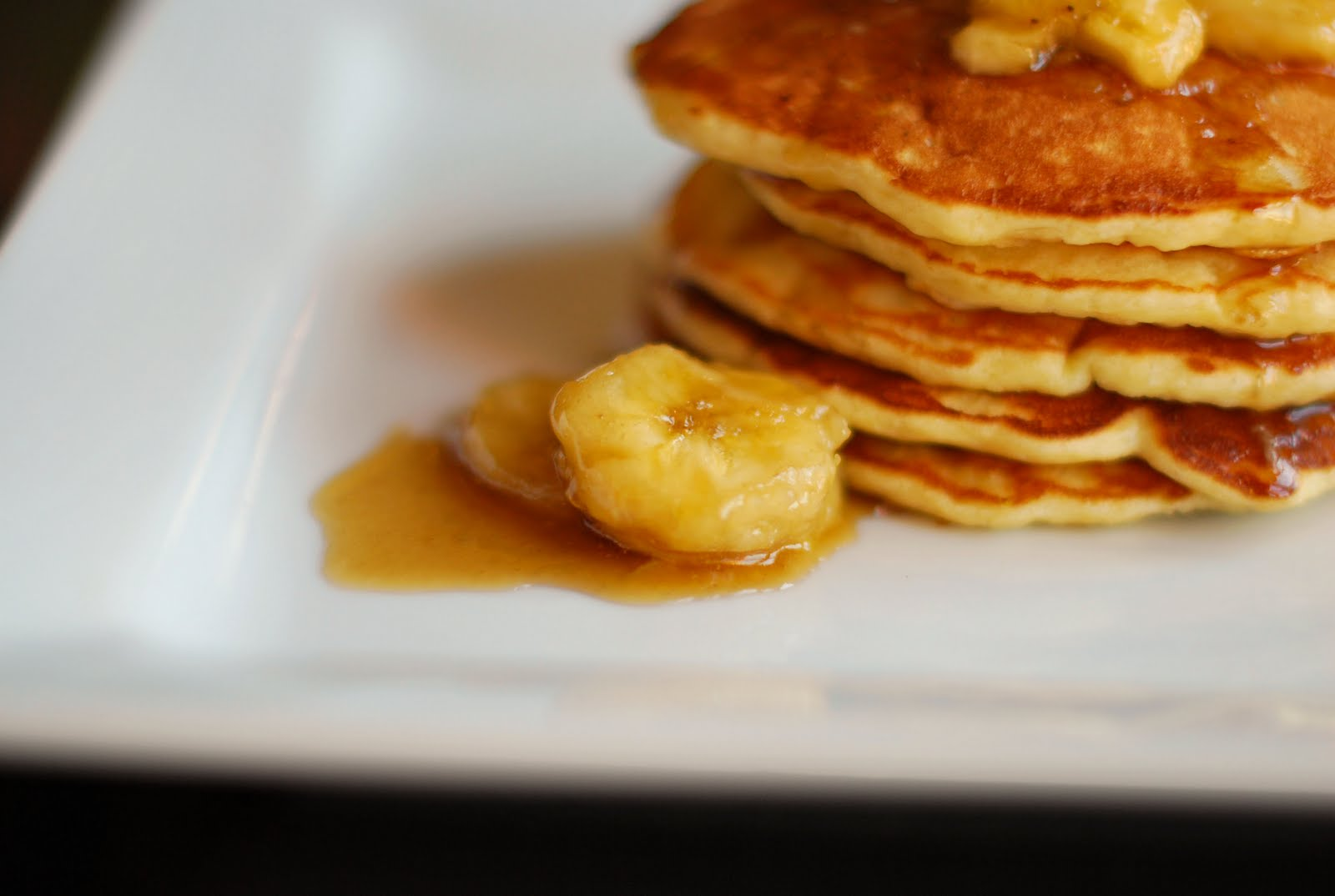 French Toast and Banana Pancakes